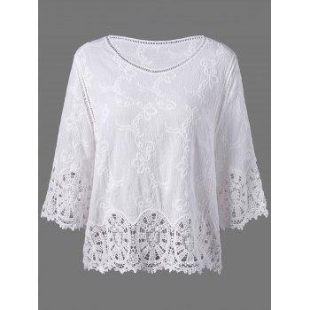 Cutwork Embroidery Blouse