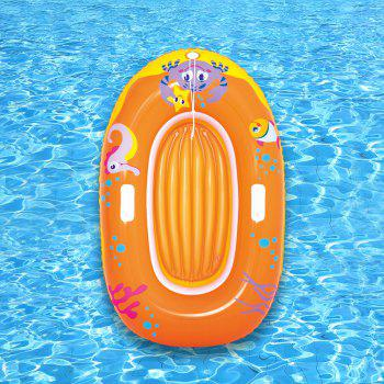 Crab Printed Kids Inflatable Floating Boat