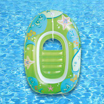 Dolphin Starfish Printed Inflatable Floating Boat