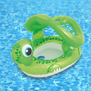 Turtle Shape Floating Seat Boat with Anti-UV Sunshade