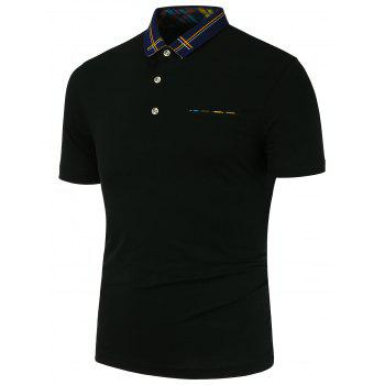 Fake Pocket Design Polo Shirt