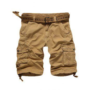 Casual Multi Pockets Cargo Shorts