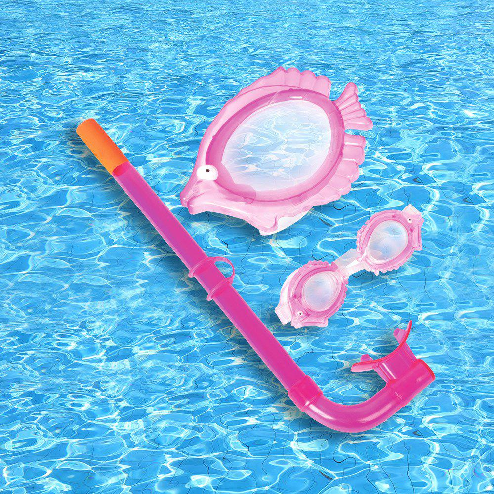 Animal Kids Diving Set - LIGHT PINK