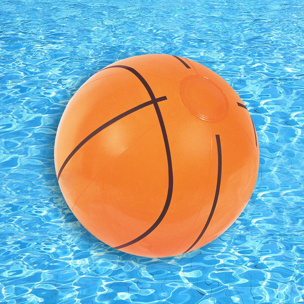 Inflatable Sports Beach Ball  - MELON YELLOW
