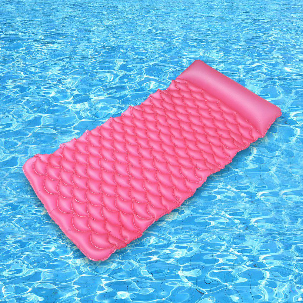 Swimming Pool Inflatable Floating Row - WATER RED