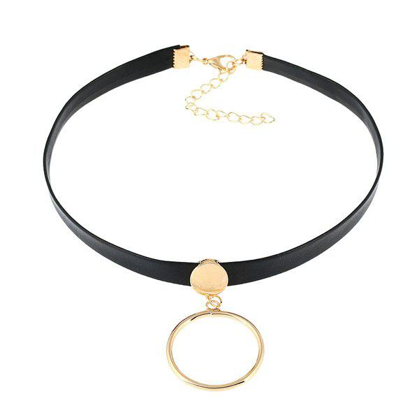 Circle Vintage Choker Necklace
