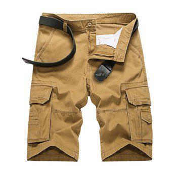 Multi Pockets Cargo Camo Shorts