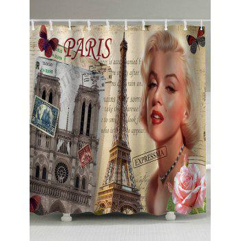 Mildew Resistant Marilyn Monroe Shower Curtain