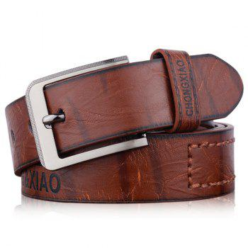 Artificial Leather Letters Hot Stamping Belt