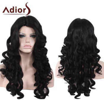 Adiors Side Part Long Shaggy Loose Wave Synthetic Wig