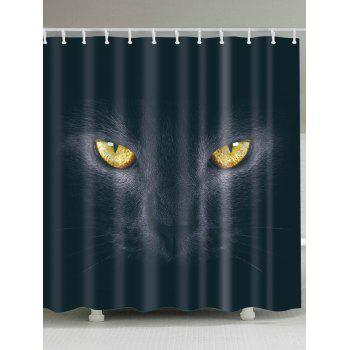 3D Cat Eyes Shower Curtains Bathroom Decoration