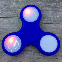Color Changing LED Lights Focus Toy Fidget Finger Spinner