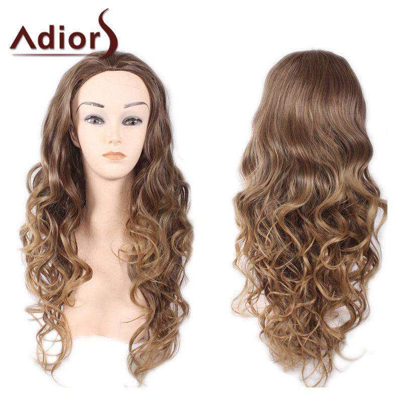 Adiors Big Wave Long Heat Resistant Synthetic Wig instock black big wave heat resistant synthetic hair lace front wig top quality cheap wigs for female