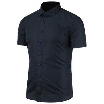 Button Front Short Sleeve Shirt