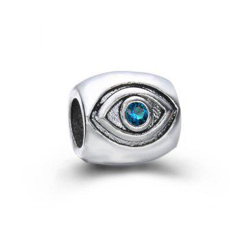 Rhinestone Eye DIY Charm Bead
