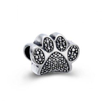 Bear Paw Alloy Charm DIY Bead