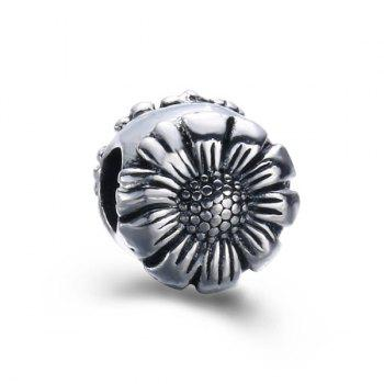 Alloy Flower DIY Charm Bead