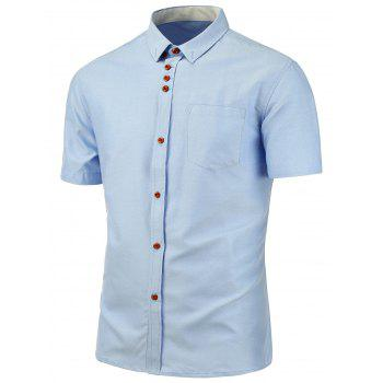 Button Down Short Sleeve Shirt