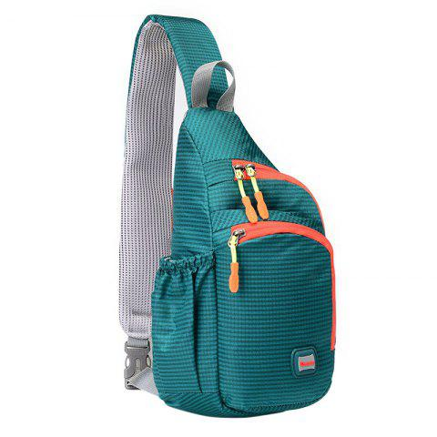 Multipocket Waterproof Chest Bag - MARINE GREEN