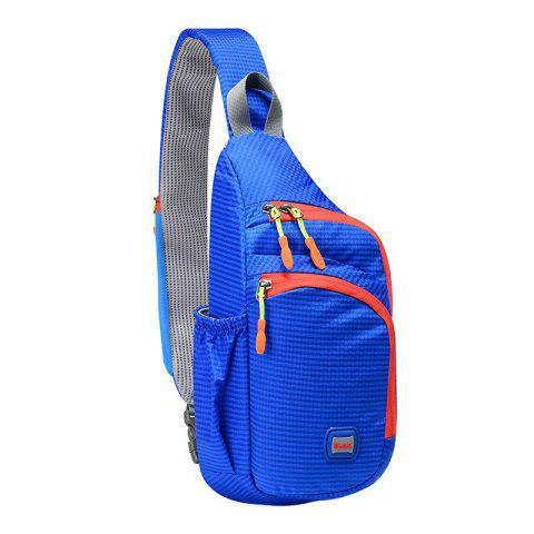 Multipocket Waterproof Chest Bag - BLUE