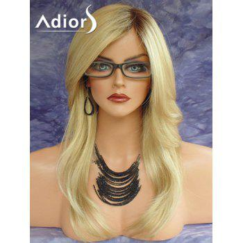 Adiors Long Side Part Colormix Natural Straight Synthetic Wig