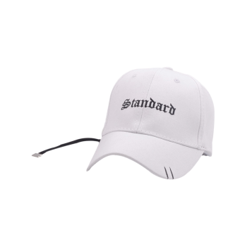 Letters Long Tail Holes Baseball Hat