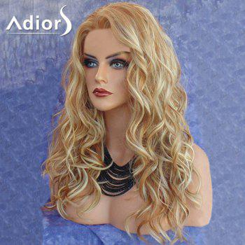 Adiors Long Side Part Colormix Layered Curly Synthetic Wig