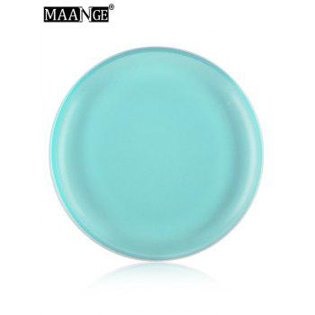 MAANGE 6PCS Silicone Different Shape Makeup Sponges - BLUE