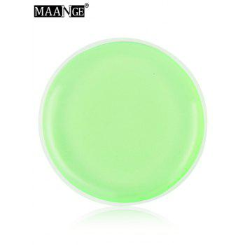 MAANGE 6PCS Silicone Different Shape Makeup Sponges - LIGHT GREEN