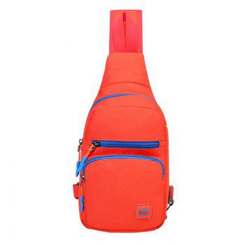 Nylon Waterproof Multi Pockets Chest Bag