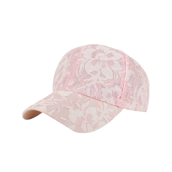 Breathable Lacework Floral Baseball Hat