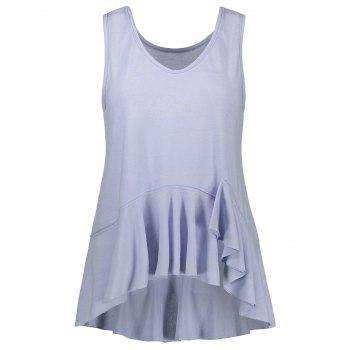 Ruffle Loose Fit Tank Top