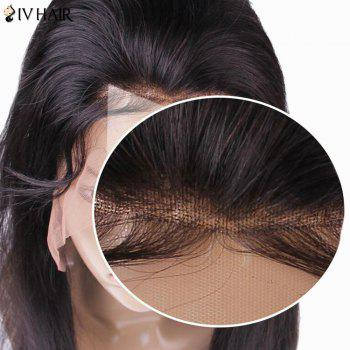 Siv Hair Lace Front Long Body Wave Human Hair Wig - BLACK BLACK