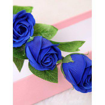 5 Pcs Handmade Soap Rose Artificial Flowers and Bear -  ROYAL