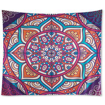 Wall Hangings Art Decor Mandala Print Hippie Tapestry - COLORMIX W79 INCH*L59 INCH