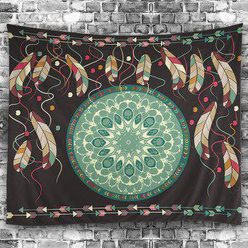 Wall Hanging Art Decor Mandala Feather Tapestry