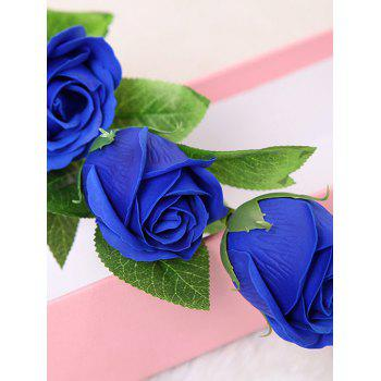 3 Pcs Handmade Rose Soap Artificial Flowers and Bear -  ROYAL