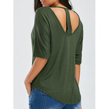 Oversized Cut Out T-Shirt
