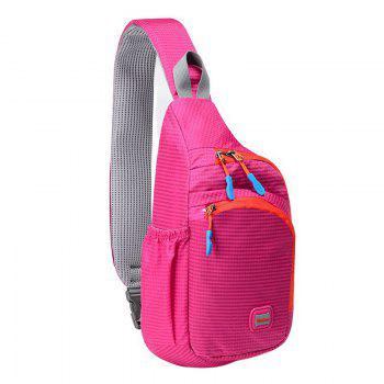 Multipocket Waterproof Chest Bag - ROSE RED ROSE RED