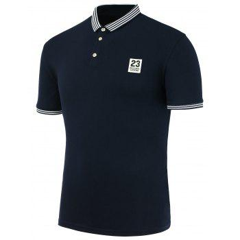 23 Shape Patch Polo Shirt
