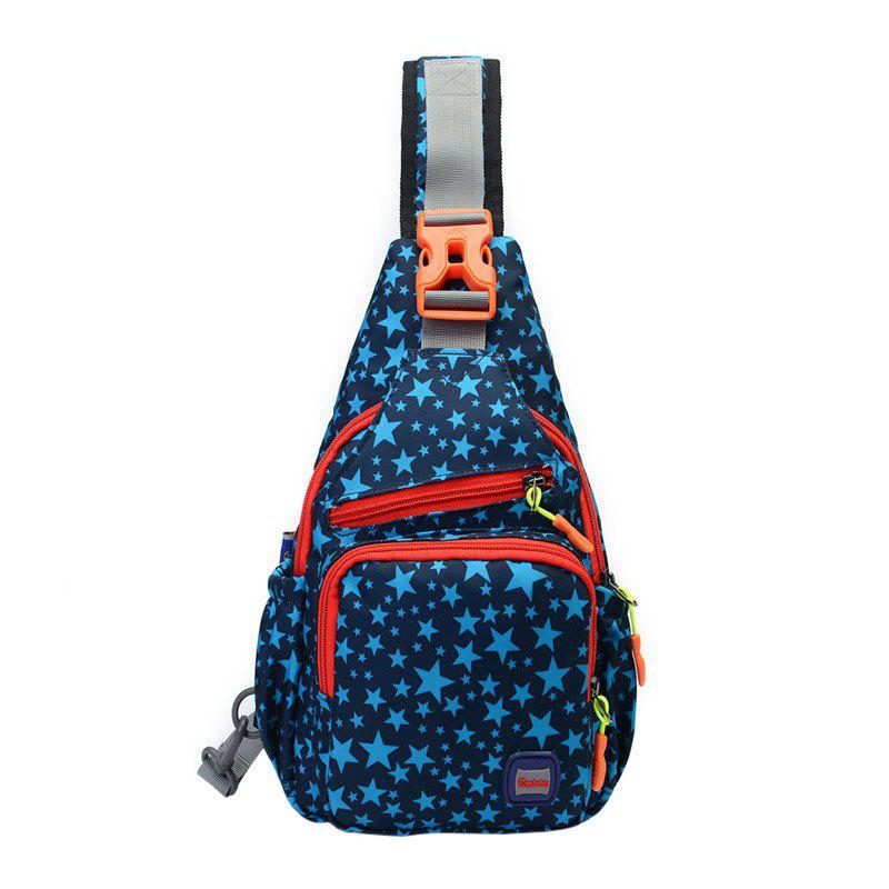 Multipocket Chest Bag - DEEP BLUE