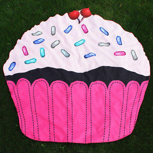 Novelty Cartoon Cupcake Beach Throw - TUTTI FRUTTI