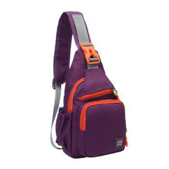 Waterproof Multipurpose Chest Bag -  PURPLE