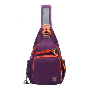 Waterproof Multipurpose Chest Bag - PURPLE PURPLE