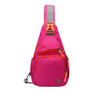Waterproof Multipurpose Chest Bag - ROSE RED ROSE RED