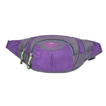 Multipocket Waterproof Nylon Waist Bag