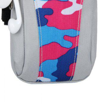 Lightweight Camouflage Arm Bag -  PINK