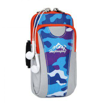 Lightweight Camouflage Arm Bag - LAKE BLUE LAKE BLUE