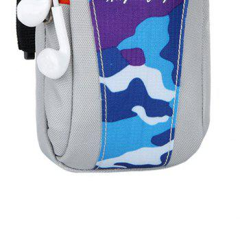 Lightweight Camouflage Arm Bag -  LAKE BLUE