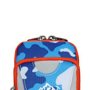 Lightweight Camouflage Arm Bag -  BLUE CAMOUFLAGE